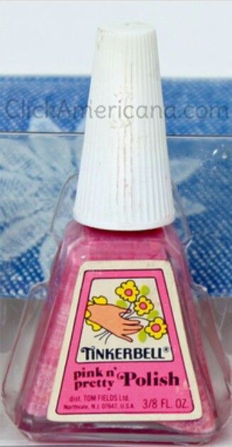 Tinkerbell Nail Polish~~This stuff was so watered down, but it was a must have!