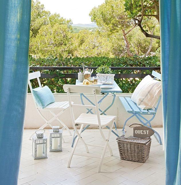 Ideas para decorar terrazas peque as terraza jardin for Mobiliario para terrazas pequenas