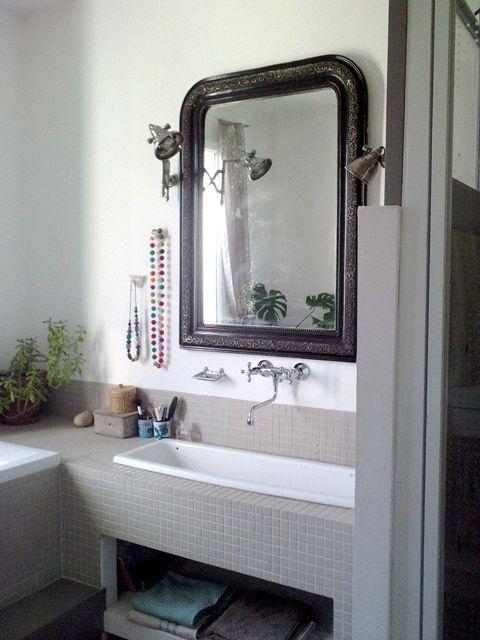 Les 25 meilleures id es de la cat gorie carreaux de miroir for Miroir 9 carreaux