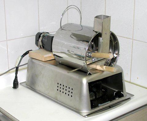 Homemade Coffee Roaster The Uglyroast Coffee Roasters