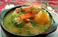 SABOR CHILENO Uno de mis platos favoritos de la cocina chilena son las cazuelas; las hay de ave, cordero y de vacuno. Este es un plato muy a...