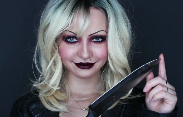 Tiffany (Bride of Chuck) | 15 DIY Movie-Inspired Makeup Inspirations for Hallowe...