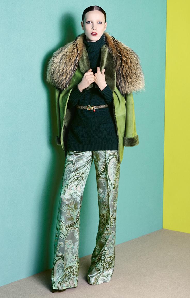 Etro Woman Autumn Winter 12-13 Main Collection
