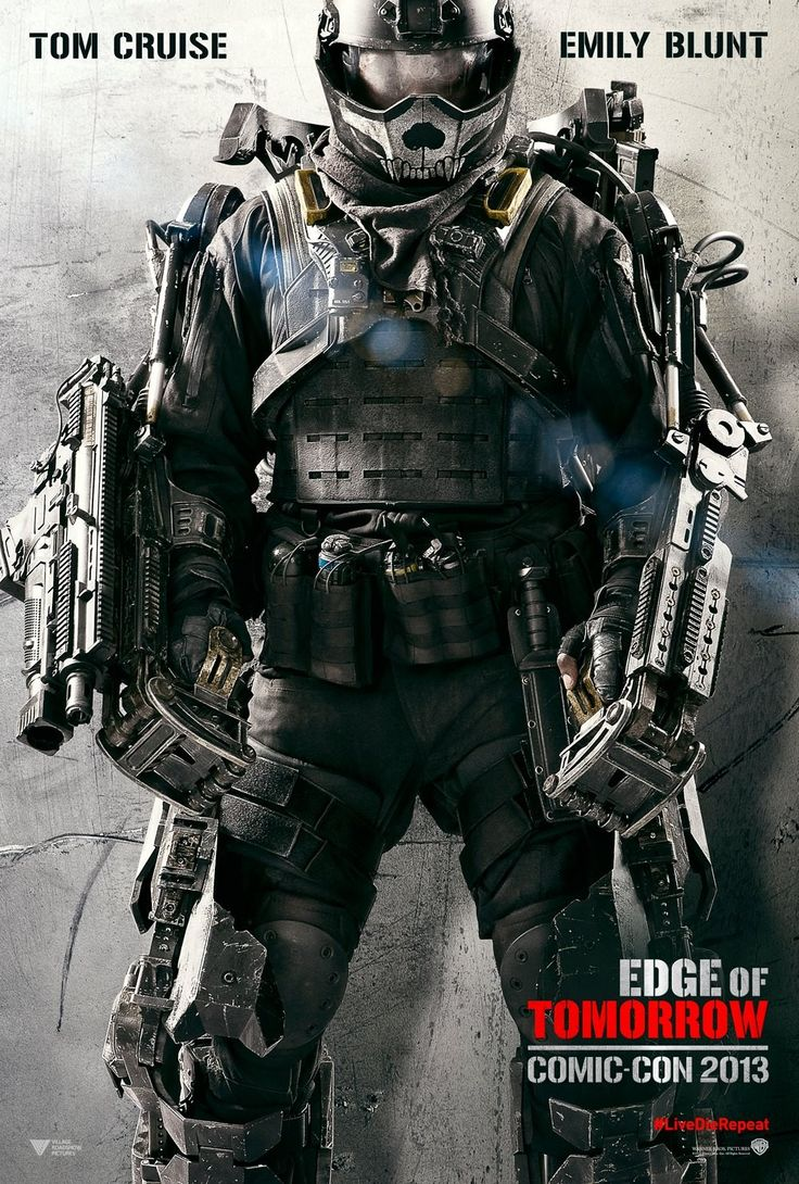 Tom Cruise starrer ALL YOU NEED IS KILL gets new as EDGE OF TOMORROW & first Comic-Con poster