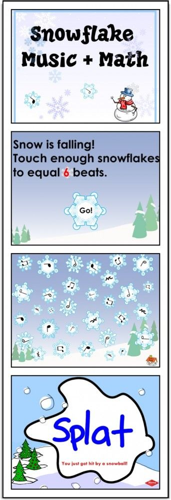 This activity, for Grades 1-3, combines the best of music and math into an interactive SMARTBoard lesson perfect for the winter months.