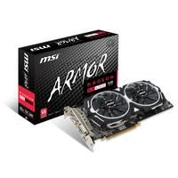 MSI RX 480 ARMOR 8G OC (V341-019R)  DEMAND MORE DEMAND RADEON Guiding the Future of Gaming The 4th generation GCN architecture is engineered for gamers who play anything from the latest MOBA s to the most popular AAA titles. Asynchronous Shaders and an enhanced Geometry Engine power new levels of smooth gameplay performance. Immersive VR Experiences Experience the next level of immersion with the world of VR gaming and entertainment with Radeon RX graphics cards powered by the revolutionary…