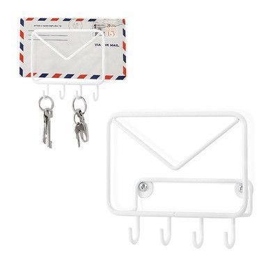 Věšák na klíče a obálky Mail   Bonami