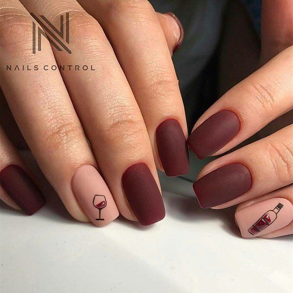 Need Some Wine Nails Inspiration We Have New Colored And Themed Nail Designs They Will Make You Want To Open A Bottle Really