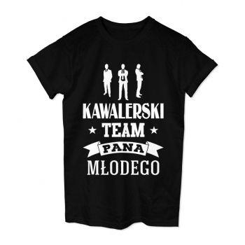 Koszulka męska na wieczór kawalerski Kawalerski Team