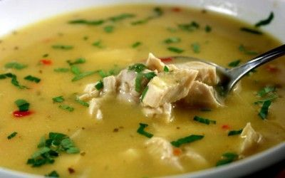 HCG DIET RECIPES LEMON SPINACH CHICKEN SOUP…