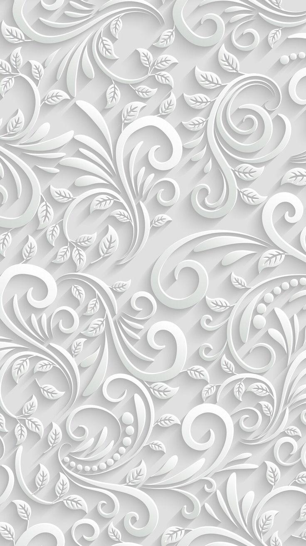 Textura en blanco.