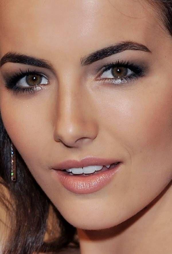 Brown Makeup Brushes: Eye Makeup For Dark Brown Eyes And Olive Skin