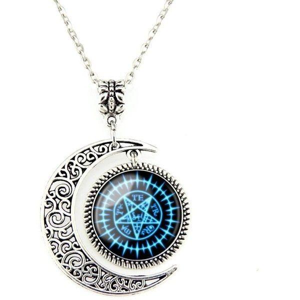 Moon pendent Black Butler Sebastian Seal necklace Sebastian Michaelis jewelry Black Butler necklace Gift ($11)