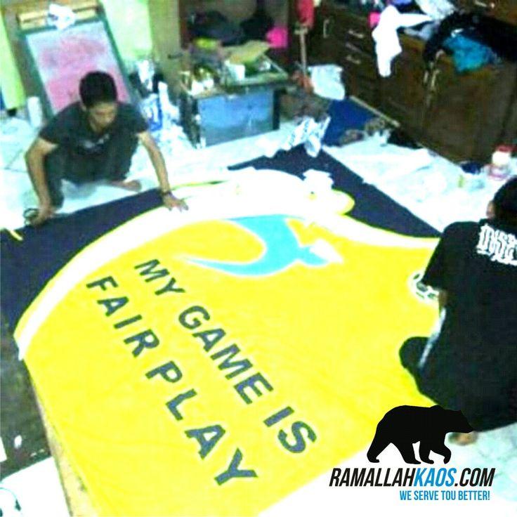 Sablon bendera FIFA . kunjungi kami di www.ramallahkaos.com