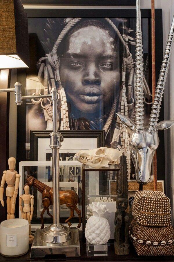 Objet's an art in itself...love table tops loaded