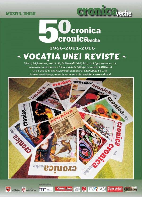 Dubla aniversare: Cronica-50 si Cronica Veche-5