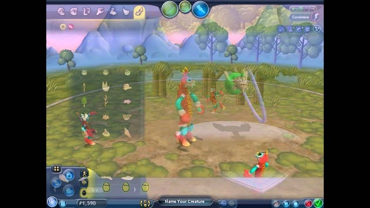 Spore Creepy & Cute Parts Pack PC 2008 Gameplay