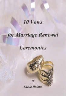 vow renewal dresses | Wedding Vows Ideas on Regal Doves On Satin Marble Marriage Vow Renewal ...