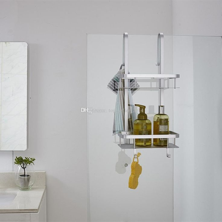 Hanging Shower Caddy Over Door