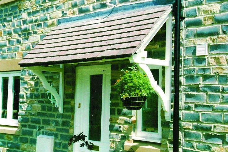 Wooden Door Canopy/Porch - Timber Door Canopies by George Woods (Eastacombe)  uk.picclick.com