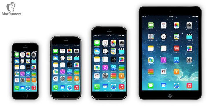"""iPhone 6: zwei neue iPhone - zwei Release Termine!  - http://apfeleimer.de/2014/04/iphone-6-zwei-neue-iphone-zwei-release-termine - Die iPhone 6 Produktion läuft in Kürze an, Release für iPhone 6 mit 4,7 Zoll im September – iPhone 6 mit 5,5 Zoll zu Weihnachten. Apple scheint dieses Jahr tatsächlich zwei neue iPhone 6 zu planen, allerdings scheint nur das """"mittelgroße"""" iPhone 6 mit 4,7 Zoll Display den Verk..."""