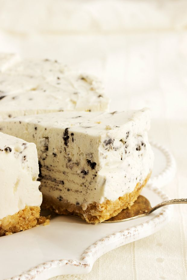 no-bake oreo cheesecake. Recipe in English at the bottom of the page.
