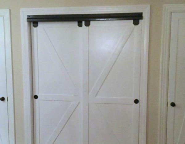 More Ideas Below Rustic Bifold Closet Door Bedroom Unique Curtain Sliding For S Small Diy