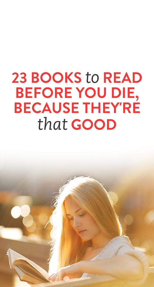 23 books to read before you die