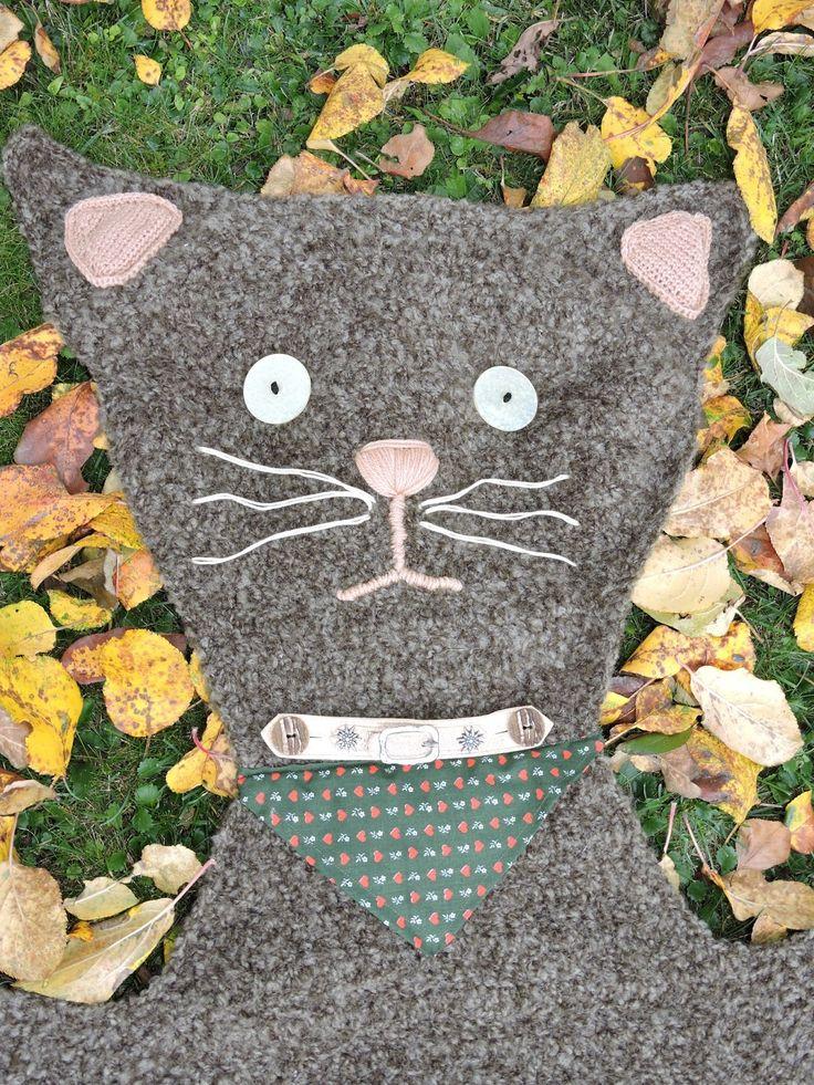Wieder einmal eine Katzendecke /// Once again a cat blanket (16.10.15)