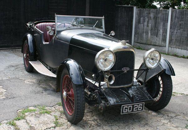 1931 lagonda 2 litre t2 low chassis speed model tourer for Motor vehicle trenton nj number