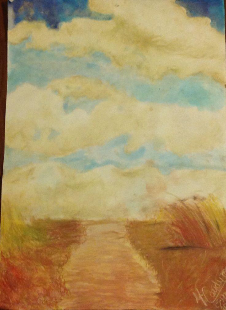 Road to the sky. Majo Cauduro