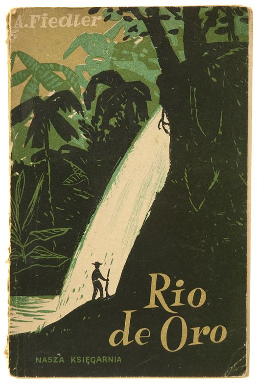Cover by Antoni Pucek for Rio de Oro, 1956
