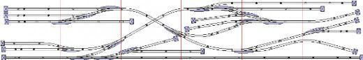 N Scale Shelf Track Plans | Model Train Resource: N-Scale Track Plans for Shelf Layouts
