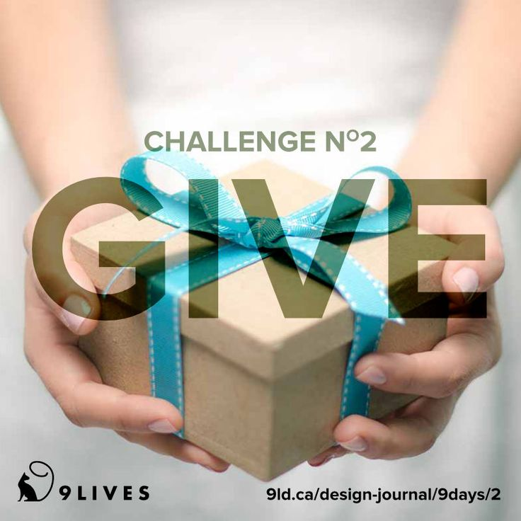 9 Lives Design Holiday Spirit Challenge #2 – Give. 3 ways to give to others. http://www.9livesdesign.ca/design-journal/9days/2 #payitfoward #give #9livesdesign