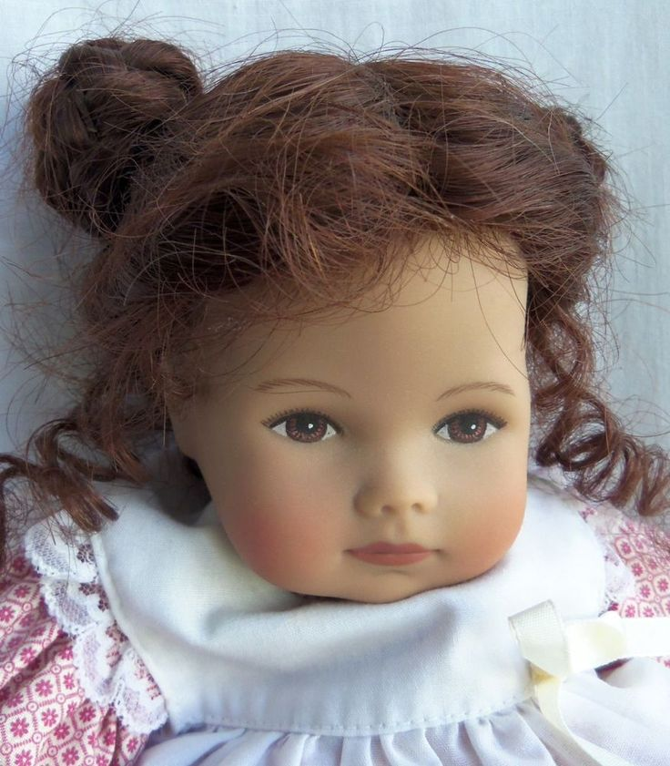 "Original HEIDI OTT Doll 12"" KATIE Hand Painted, Human Hair wig, LE of 30 Pieces! 