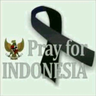 : pray for Tanah Air