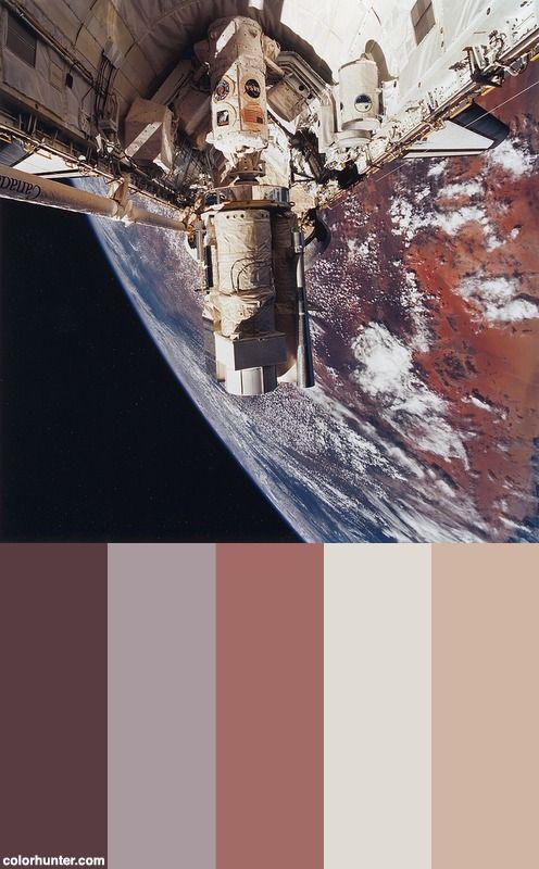 Az ŰrsiklÓ Program UtolsÓ KÜldetÉse Color Scheme