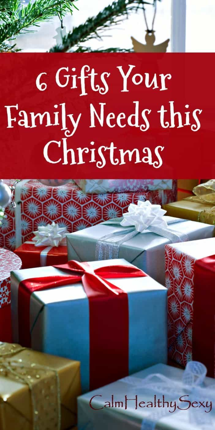 6 Christmas Gifts Your Family Needs this Year | Family, Fun, Food ...