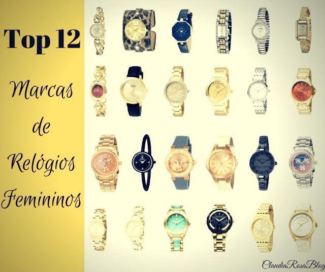 Top 12 Marcas de Relógios Femininos