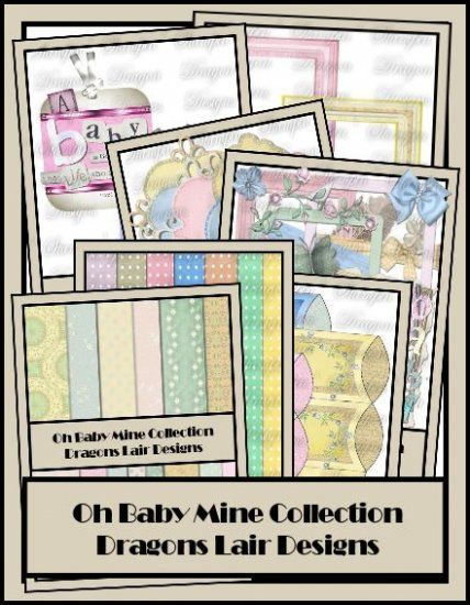 OH BABY MINE : Dragons Lair Designs, helping you create memories one layout at a time