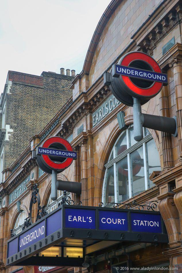 Earls Court Tube Station, London