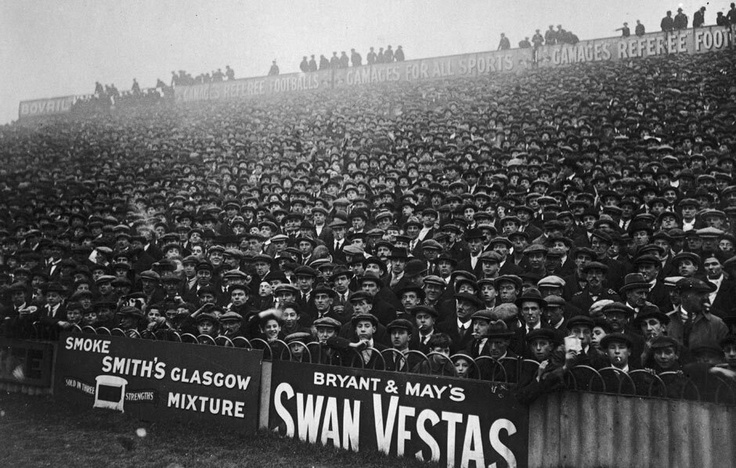 White Hart Lane in 1921.
