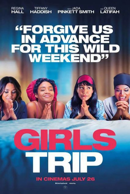 """'Girls Trip': The Wild Vacay You've Been Dying To Take — Why It's A Must-See https://tmbw.news/girls-trip-the-wild-vacay-youve-been-dying-to-take-why-its-a-must-see Girls Gone Wild meets Jada Pinkett-Smith, Queen Latifah, Regina Hall and newcomer Tiffany Haddish a.k.a the """"Flossy Posse."""" Girls Trip is the perfect balance of fun, comedy, sex, booze, #blackgirlmagic and women empowerment. The """"Flossy Posse"""" is the dream team you wish you had — friendship necklaces, matching jackets, and…"""