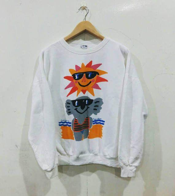 Sale Vintage Ken Done Koala Sun Sweatshirt Designer by punklabi88