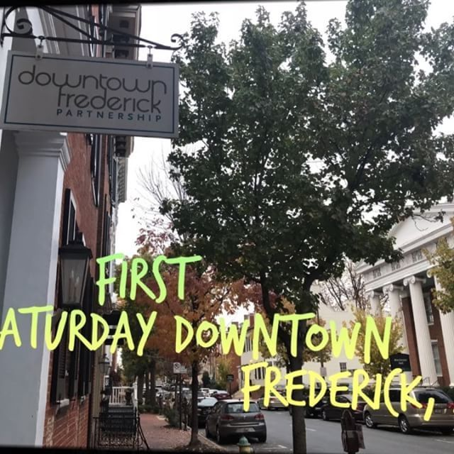Video of our First Saturday experience in historic Frederick, Maryland. #mdfamily  #getidowntownfrederick #frederickmd #frederickfirstsaturday #dtwnfrederick
