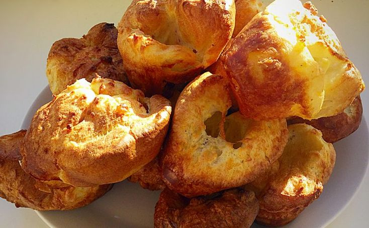 Yorkshires are rising, #roast beef, lamb  chicken cooking slowly. Stay out of the storm today at Brouge 02089772698 http://brouge.co.uk