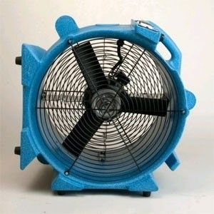 Axial Style Flood Restoration Fan - The EDIC Aviator axial style flood restoration carpet fan is designed to be the most efficient model in the industry