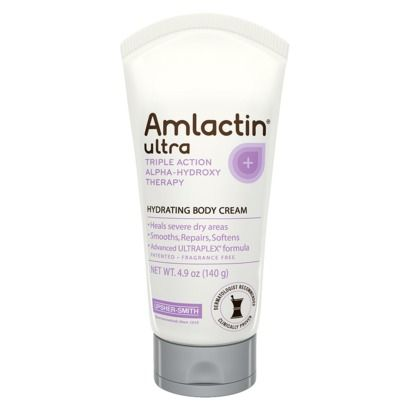 AmLactin Ultra Hydrating Body Cream - 4.9 oz | I'm told this will clear up keratosis pilaris