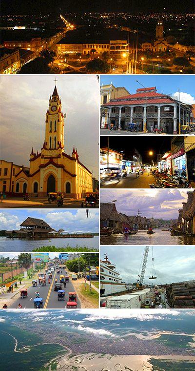Iquitos Wikipedia La Enciclopedia Libre Iquitos Paisajes Perú