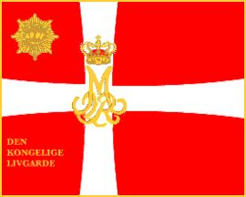 Kongens Livgarde (Royal Life Guard) regiment]